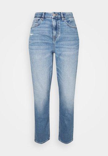 CURVY MOM - Straight leg -farkut - blue denim