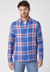 Wrangler - Shirt - limoges blue - 0