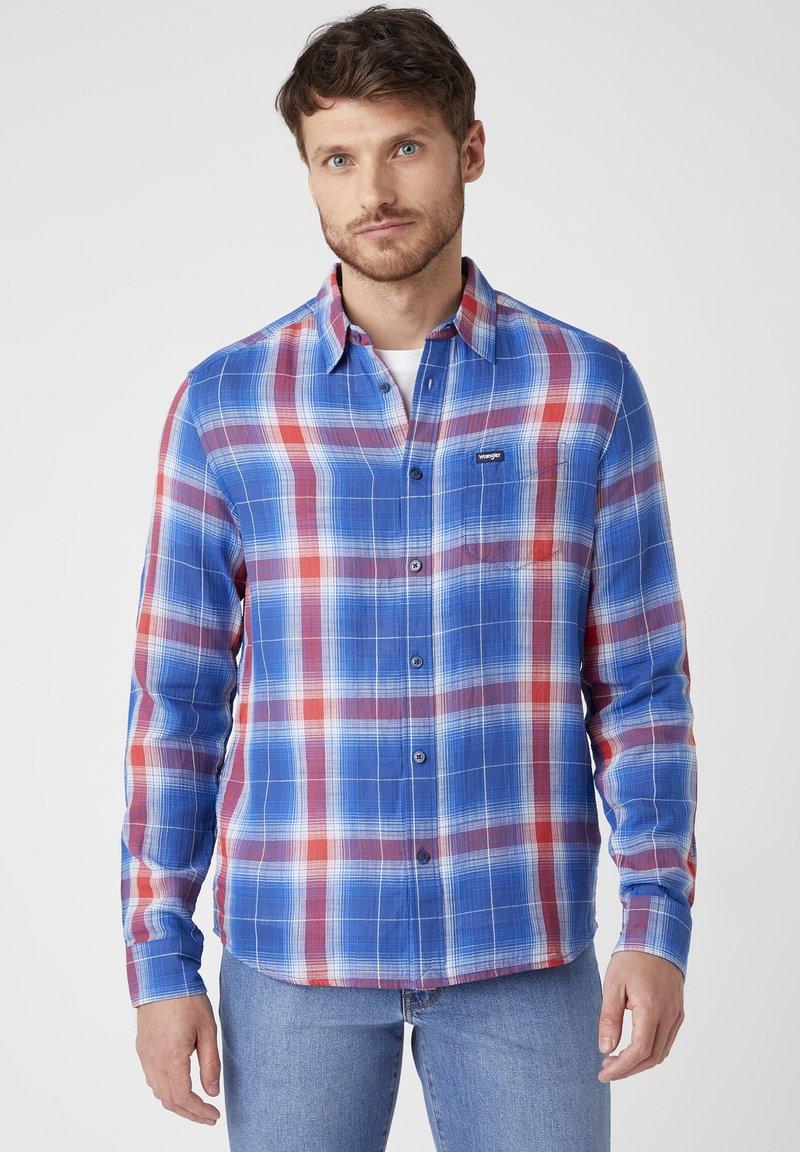 Wrangler - Shirt - limoges blue