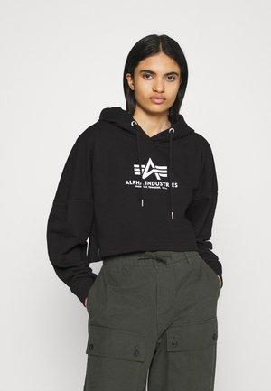 BASIC HOODY  - Sweatshirt - black