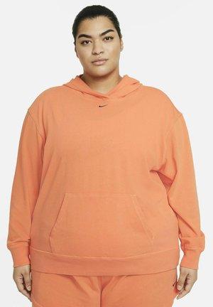 Sweat à capuche - atomic orange/black