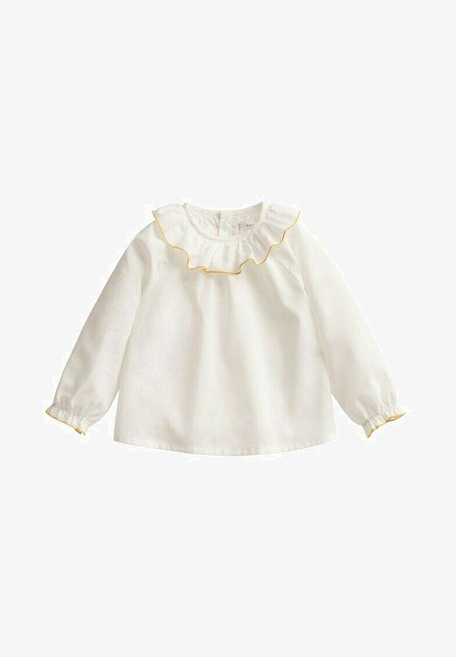 Overhemdblouse - wit