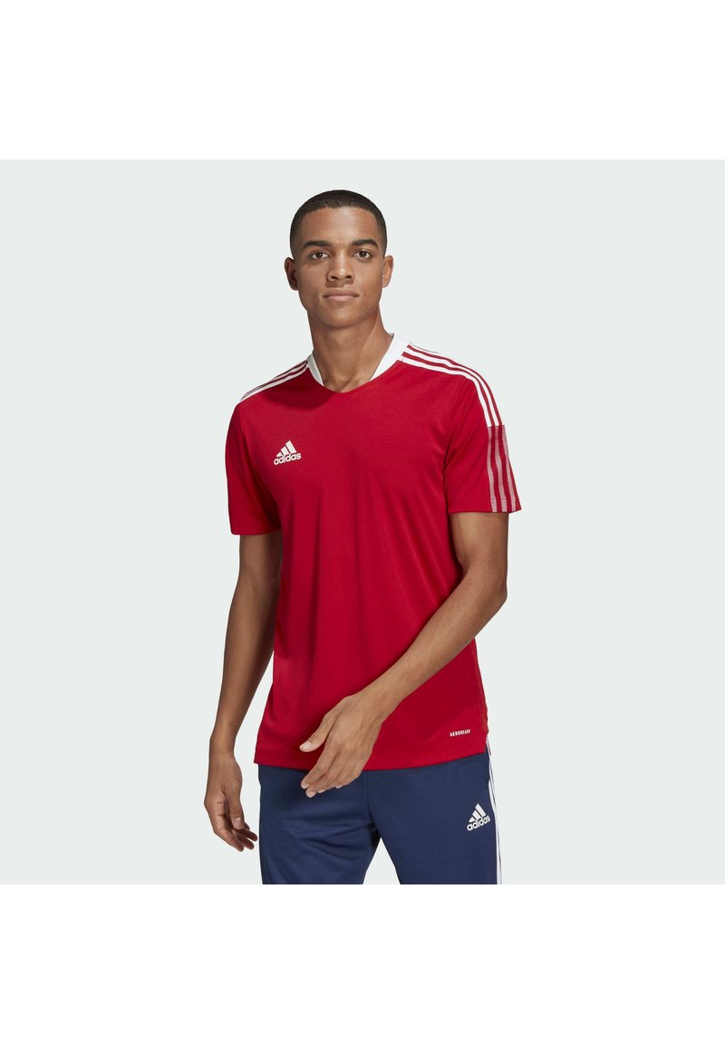 adidas Performance - TIRO 21 - Triko s potiskem - team power red