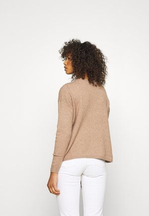 ONLPRIME TALL - Jumper - brownie/melange