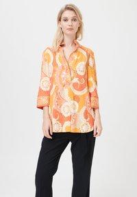 Dea Kudibal - KAMI (V) - Button-down blouse - khanga orange - 0