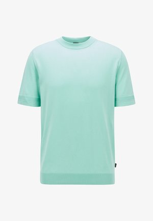 IMATTEO - Basic T-shirt - open green