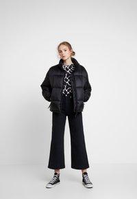 Weekday - BENITA PUFFER JACKET - Winter jacket - black - 1