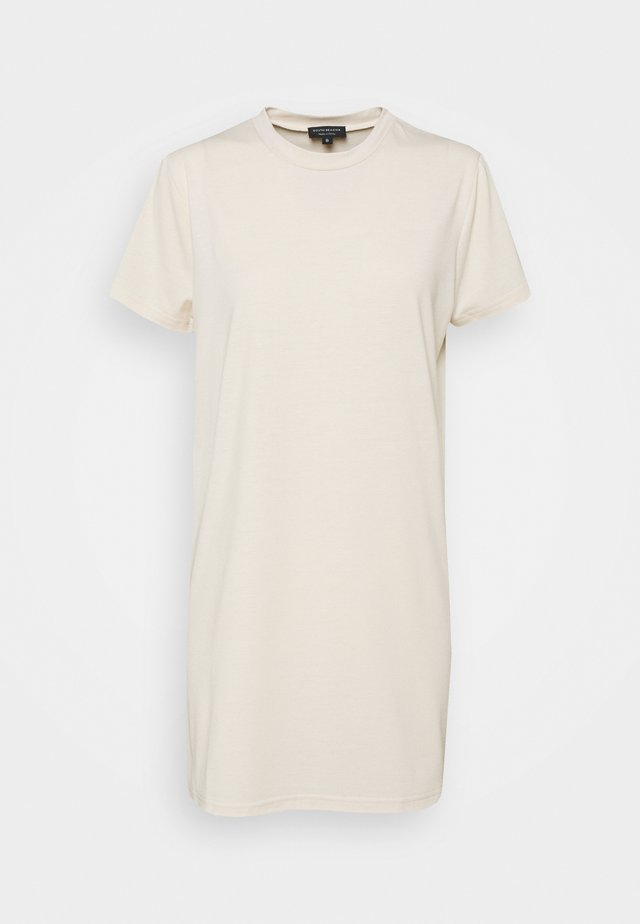 SUSTAINABLE TSHIRT DRESS - Robe d'été - stone