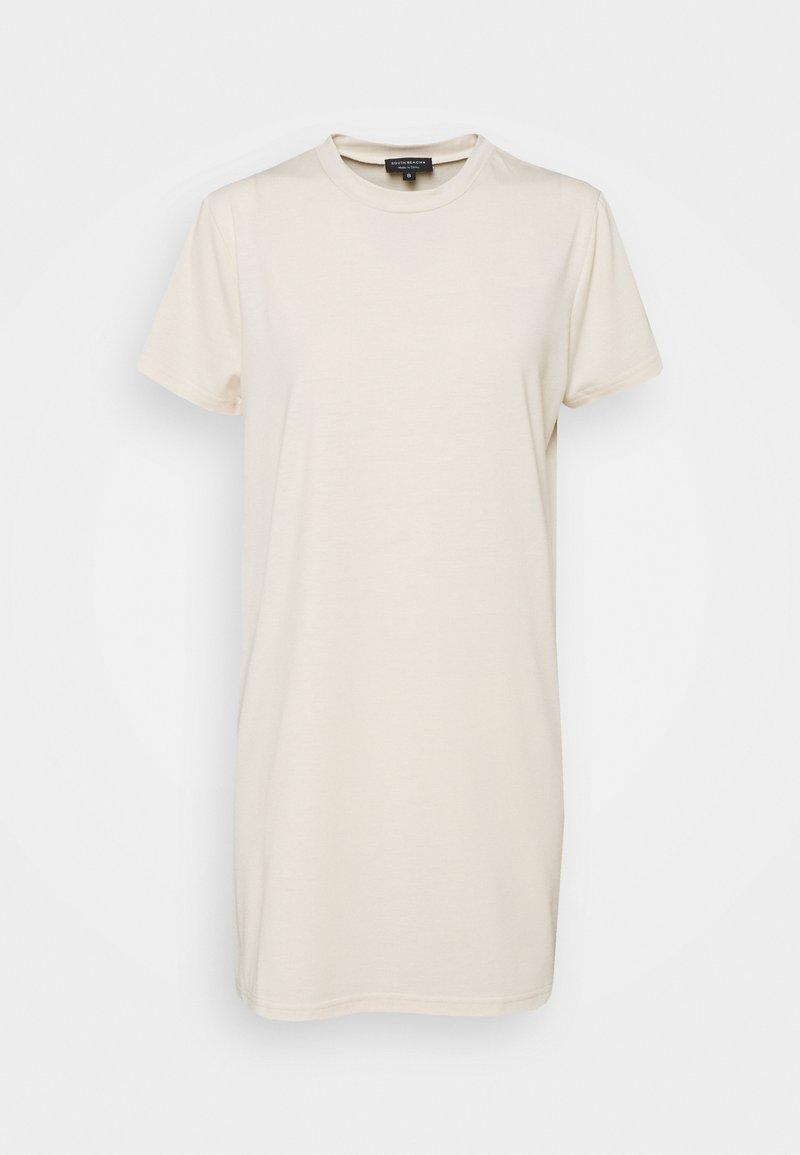 South Beach Petite - SUSTAINABLE TSHIRT DRESS - Day dress - stone