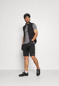 Oakley - BARK NEW - Basic T-shirt - athletic heather grey - 1