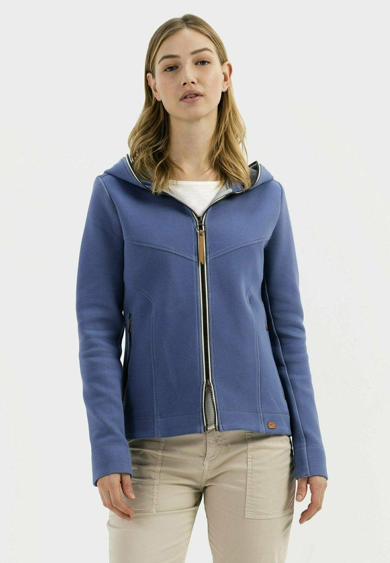 camel active - SCUBA - Zip-up sweatshirt - blue