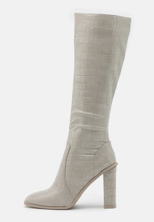 CELENI - High heeled boots - grey