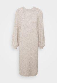 YAS - YASSIBYLLA  - Pletené šaty - sandstorm/sandstorm melange - 3