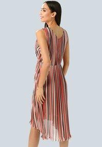 Alba Moda - Day dress - rot/koralle/weiß - 2