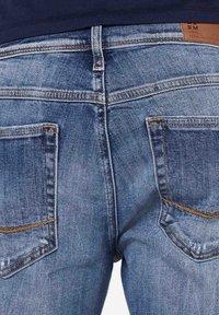 Harlem Soul - HARLEM  - Denim shorts - blue used - 8