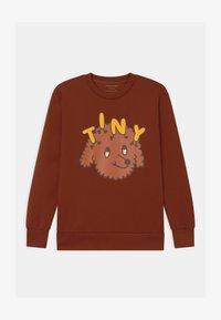 TINYCOTTONS - TINY DOG UNISEX - Sweatshirt - dark brown/sienna - 0
