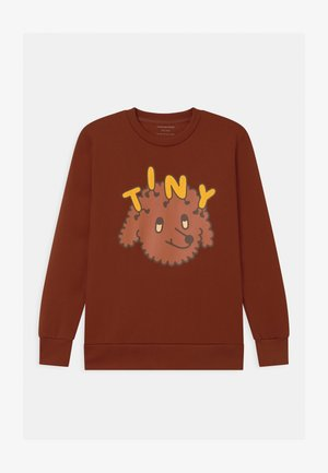TINY DOG UNISEX - Mikina - dark brown/sienna
