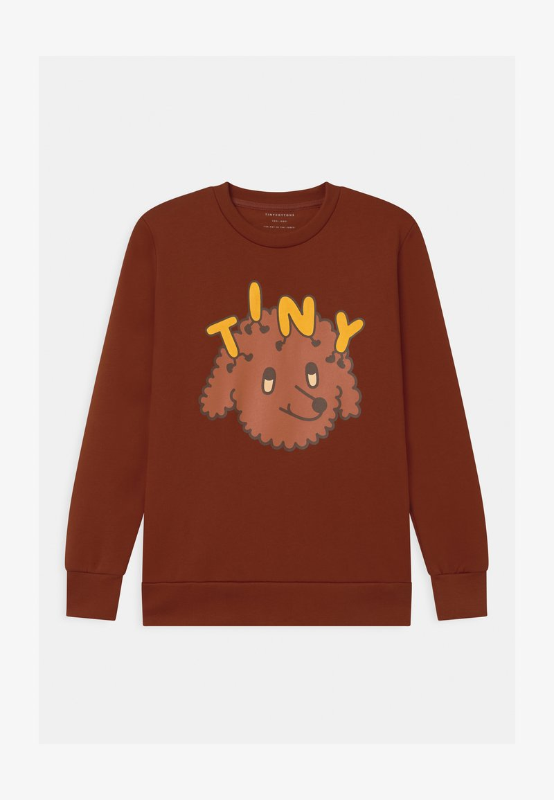 TINYCOTTONS - TINY DOG UNISEX - Sweatshirt - dark brown/sienna