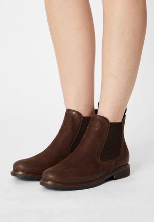 Kotníková obuv - chocolate