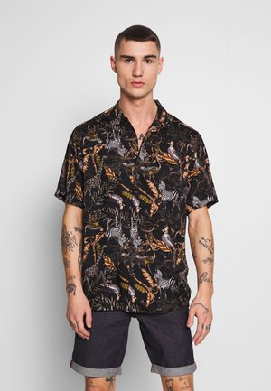 ONSGABRIAL ANIMAL  - Camicia - black/zoo