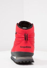 KangaROOS - K-SKOR RTX - Nauhalliset nilkkurit - red - 4