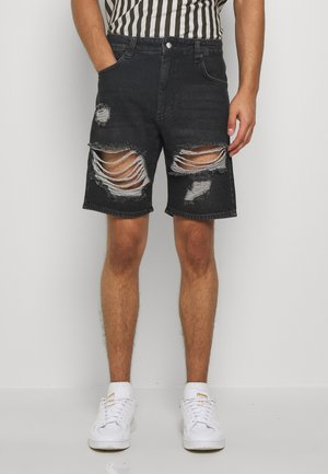 STORM - Denim shorts - old black