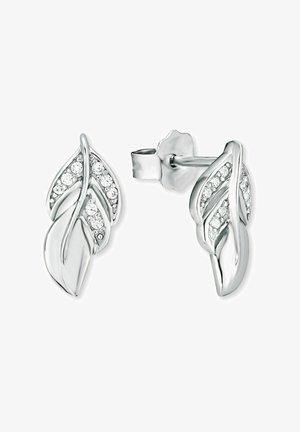 BLATT - Earrings - silber