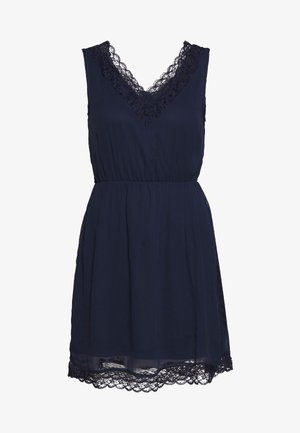 VMPERNILLA SHORT DRESS - Day dress - navy blazer