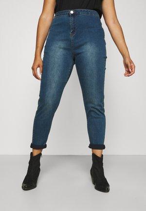 LADIES - Jeans Skinny Fit - dark stonewash