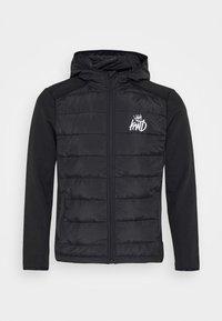 Kings Will Dream - MORSTON HYBRID PUFFER JACKET - Light jacket - black - 5