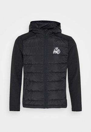 MORSTON HYBRID PUFFER JACKET - Light jacket - black