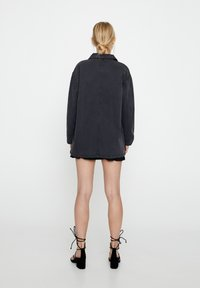PULL&BEAR - Denim jacket - dark grey - 2