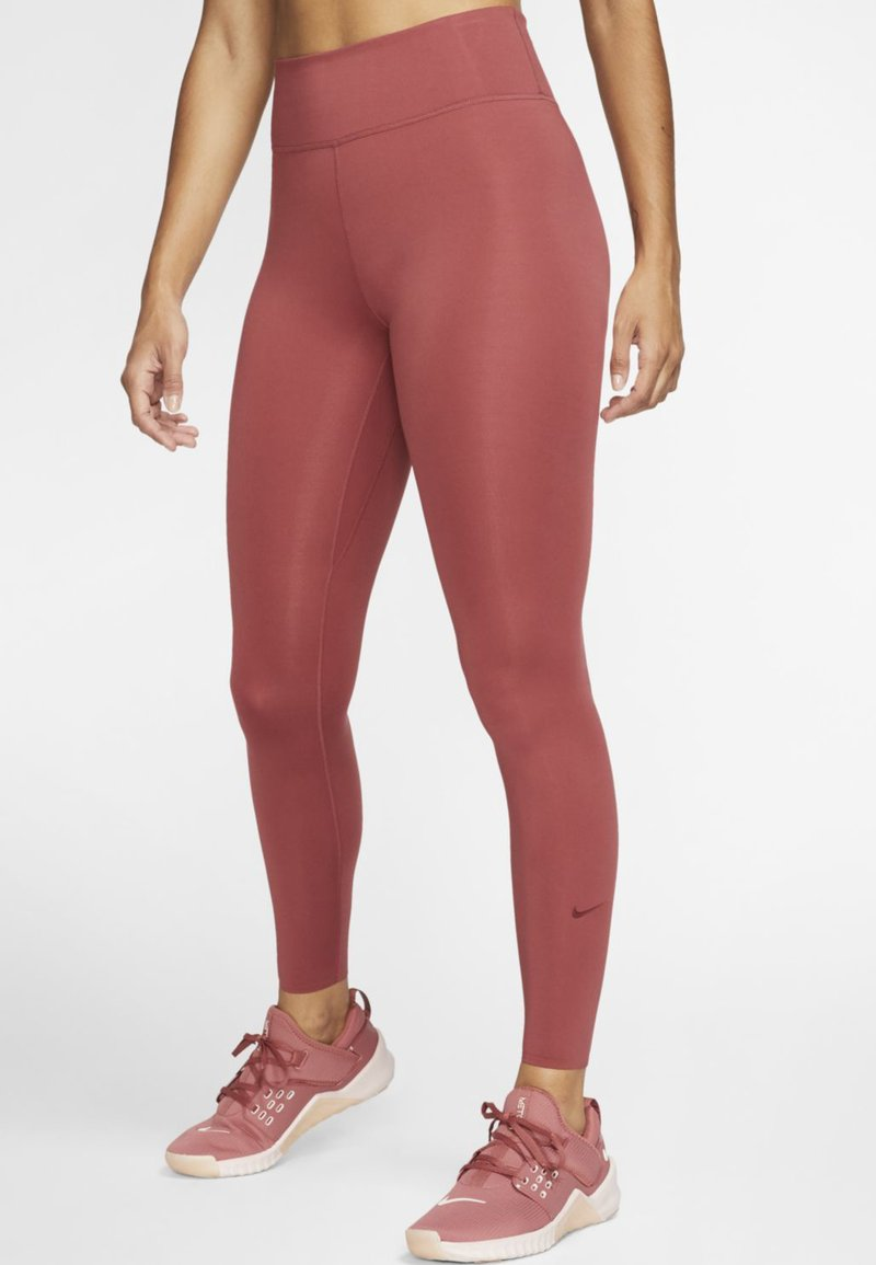 Nike Performance - ONE LUXE - Tights - dark red