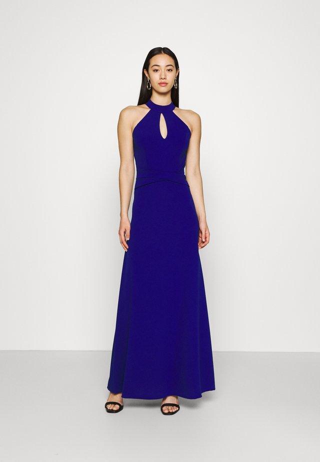 DANNY HALTER NECK DRESS - Sukienka z dżerseju - electric blue