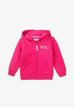 GIRL POWER - Zip-up sweatshirt - pink