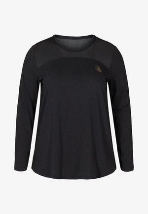 MIT PRINTDETAILS - Long sleeved top - black