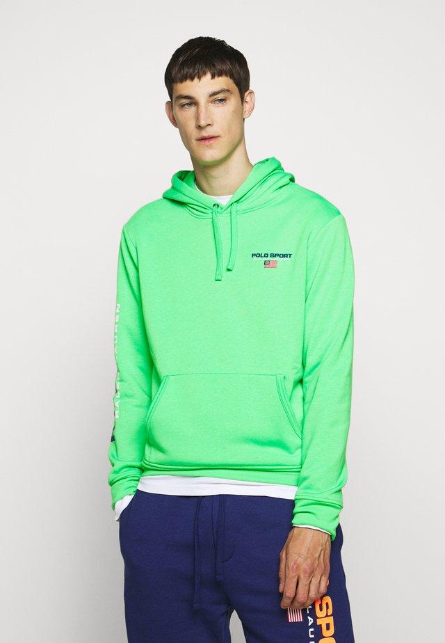 Hoodie - neon green