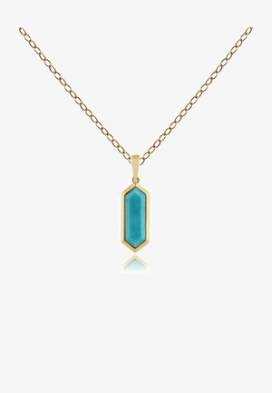 PRISM - Necklace - turquoise
