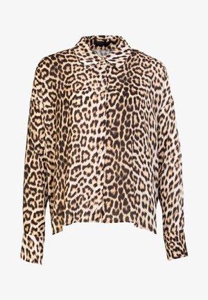 CLOELIA - Button-down blouse - brown