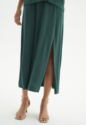 NABAIW  - A-line skirt - warm green