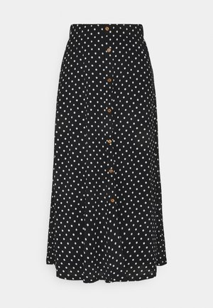 ONLPELLA SKIRT - Maxi sukně - black
