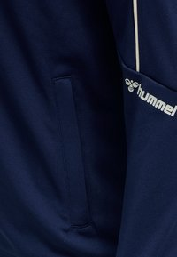 Hummel - Huvtröja med dragkedja - medieval blue - 6