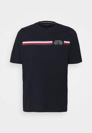 SPLIT TEE - T-shirt imprimé - desert sky