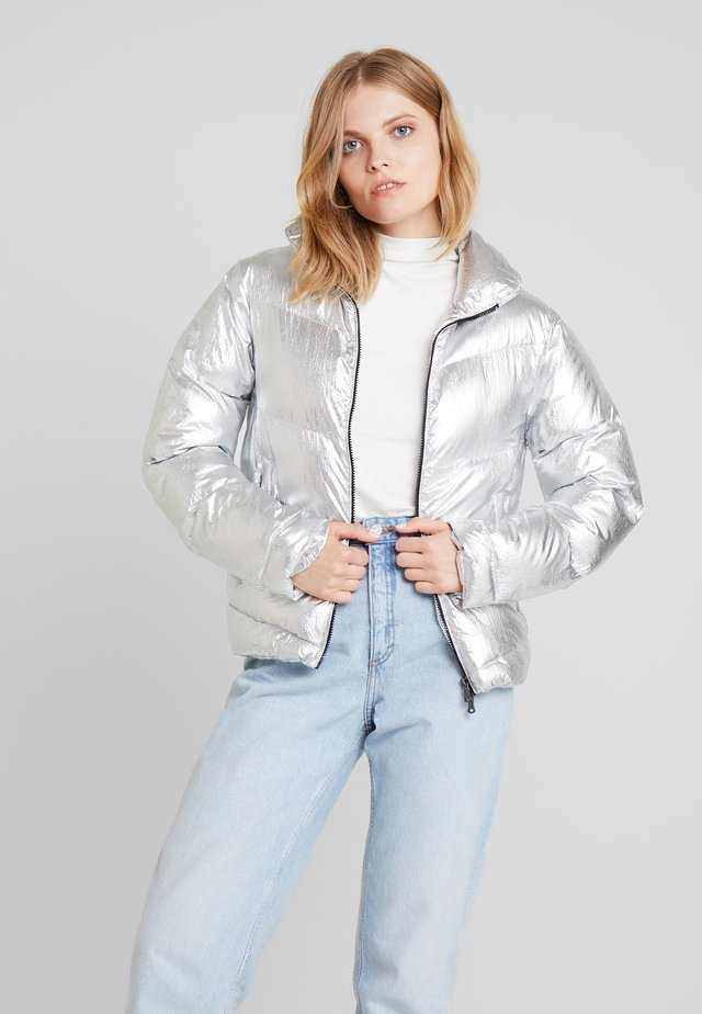MAURICIE  - Winter jacket - silver