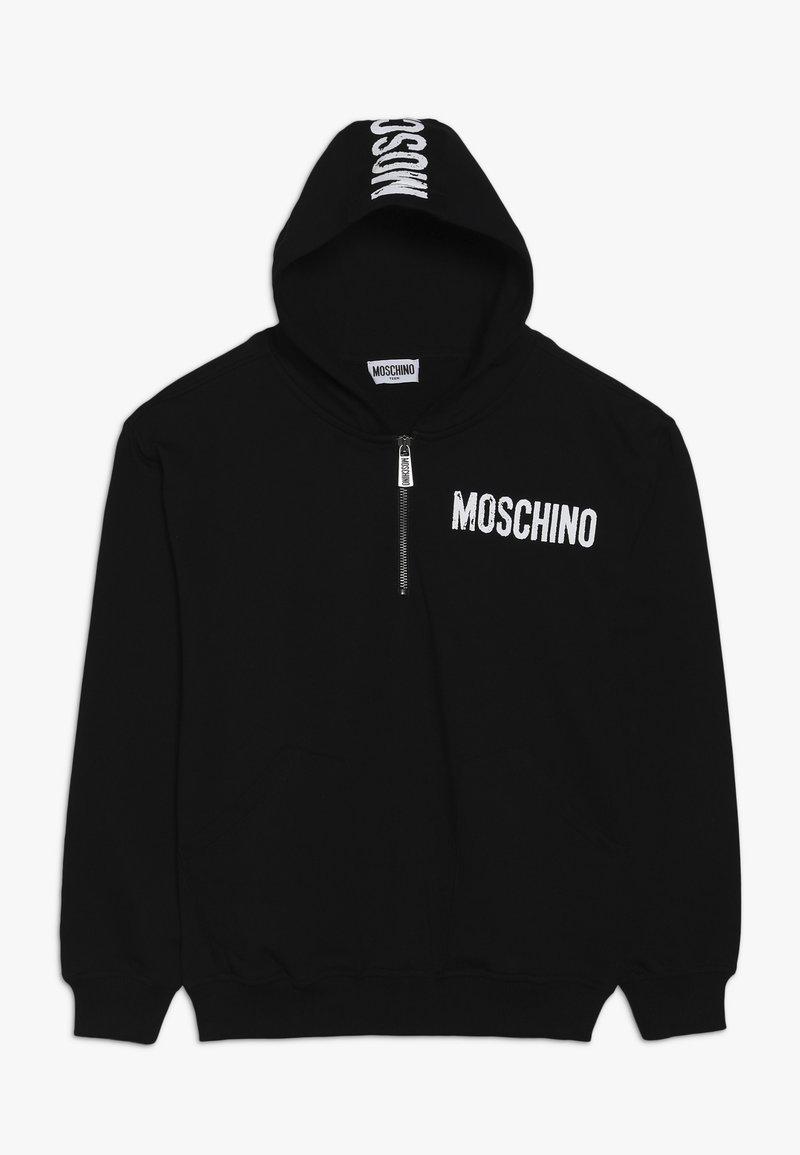 MOSCHINO - HOODED  - Hoodie - black