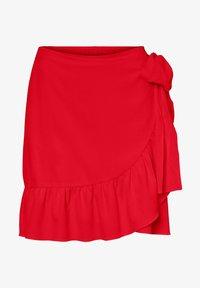 Vero Moda - ROCK WICKEL - A-line skirt - goji berry - 0