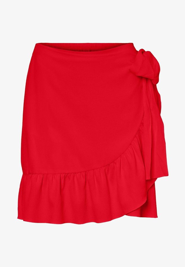 ROCK WICKEL - A-line skirt - goji berry
