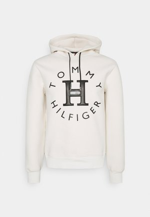 ELEVATED BONDED HOODY - Hoodie - ivory