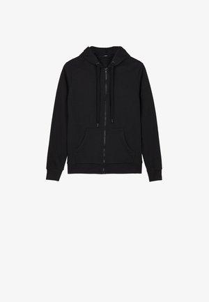 MIT KAPUZE - Zip-up hoodie - nero