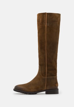 Boots - warm brown